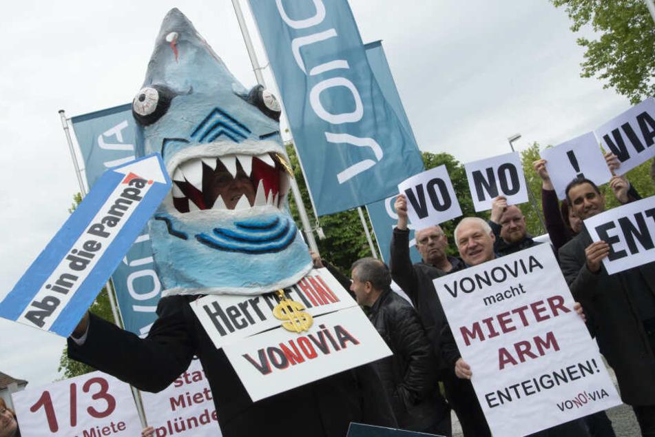 Großvermieter Vonovia bekommt Negativ-Preis in Sachsen