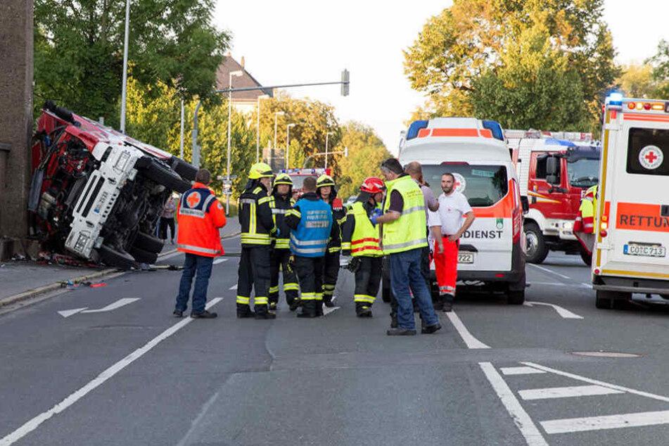 Bei diesem Unfall in Coburg kam ein 20-Jähriger ums Leben.