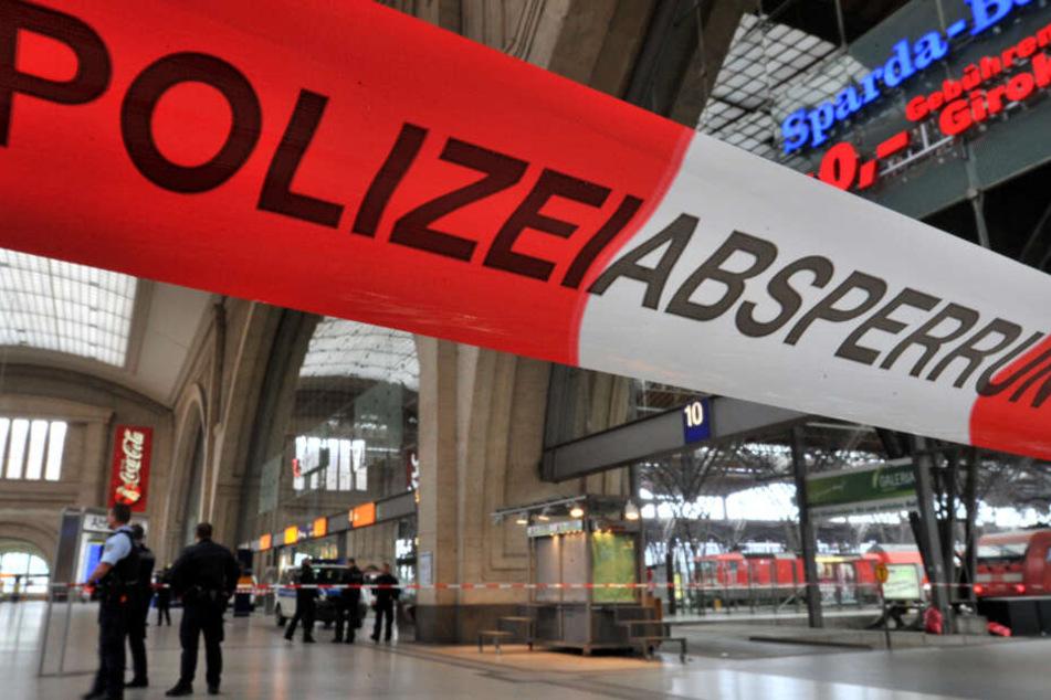 Wieder ist ein Mann am Leipziger Hauptbahnhof niedergestochen worden. (Archivbild)
