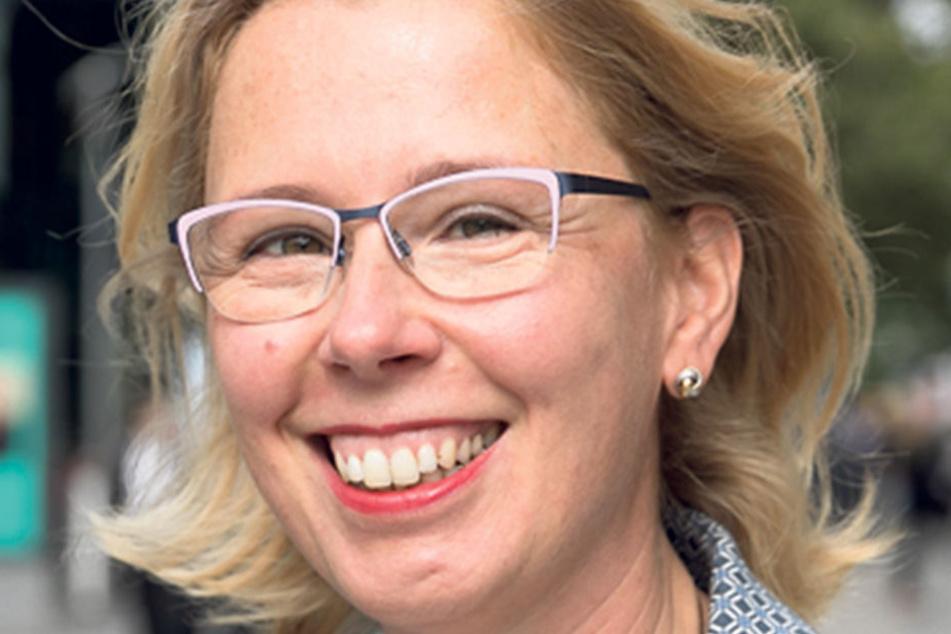 """Simone Heidemann (47) aus Groß- röhrsdorf wählt die CDU: """"Ich bin zufrieden. Meine Entscheidung ist auch personengebunden. Frau Merkel macht das gut. Es gefällt mir am Wahlprogramm nicht alles, aber das meiste schon."""""""