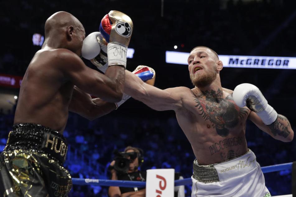 UFC-Champion McGregor überzeugte in den ersten Runden, wirkte dann aber müde.