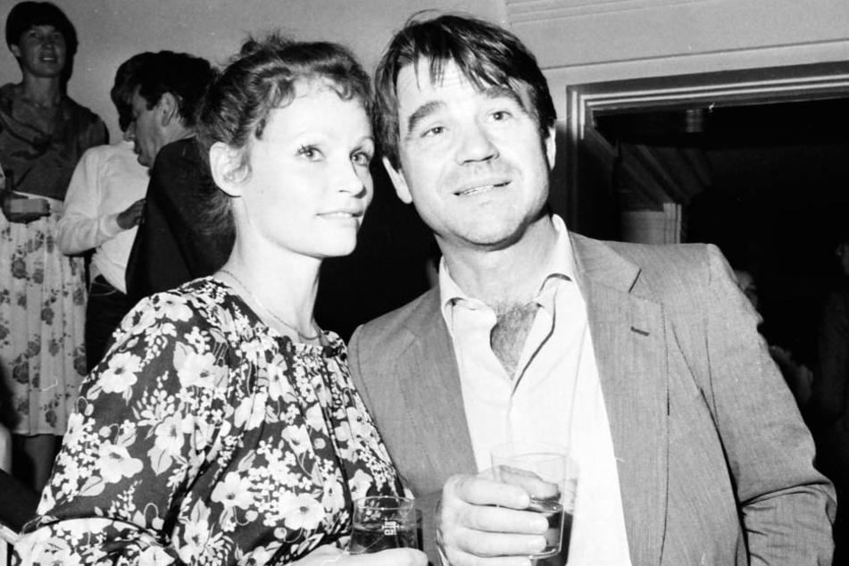 Angelica Domröse (75) mit Hilmar Thate (†85) im Jahr 1980. Am 14. September verstarb der DDR-Schauspieler in Berlin.