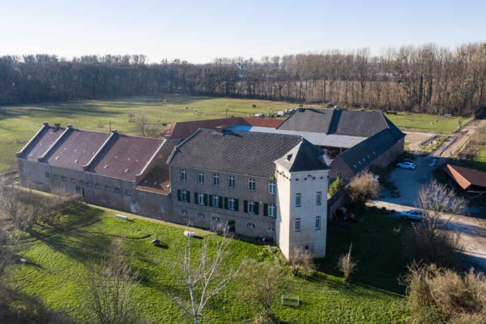 Übersicht auf das Haus Bürgel in Nordrhein-Westfalen (Archivbild).