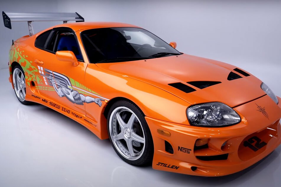 The Toyota Supra Walker drove in Fast & Furious.