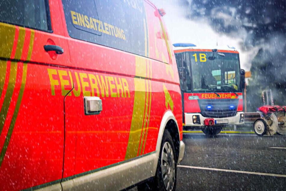 Bei dem Feuer entstand ein Sachschaden von ungefähr 200.000 Euro.