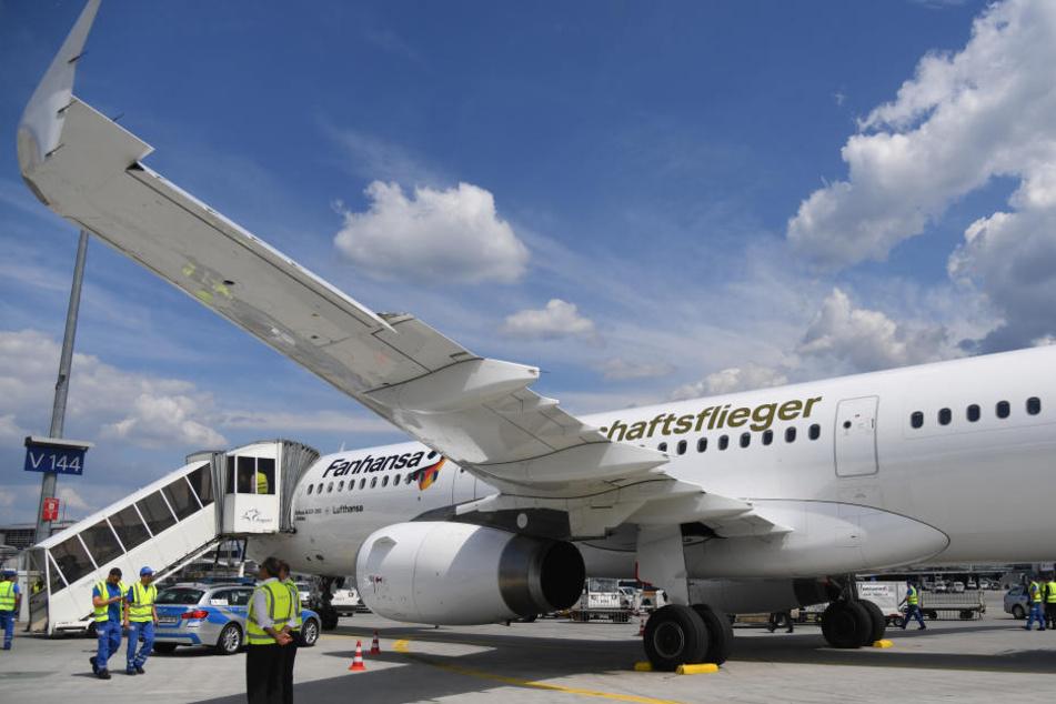 Der Abflug in Moskau erfolgte mit einer Verspätung von rund 90 Minuten.