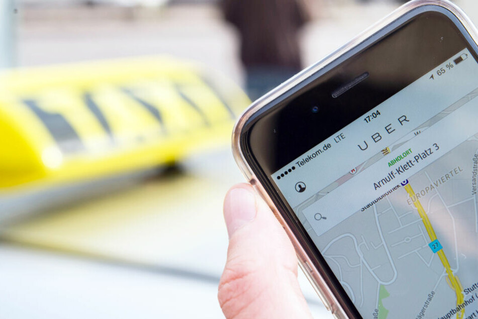 Die Genossenschaft Taxi Deutschland gewann gegen Uber einen Rechtsstreit (Symbolbild).