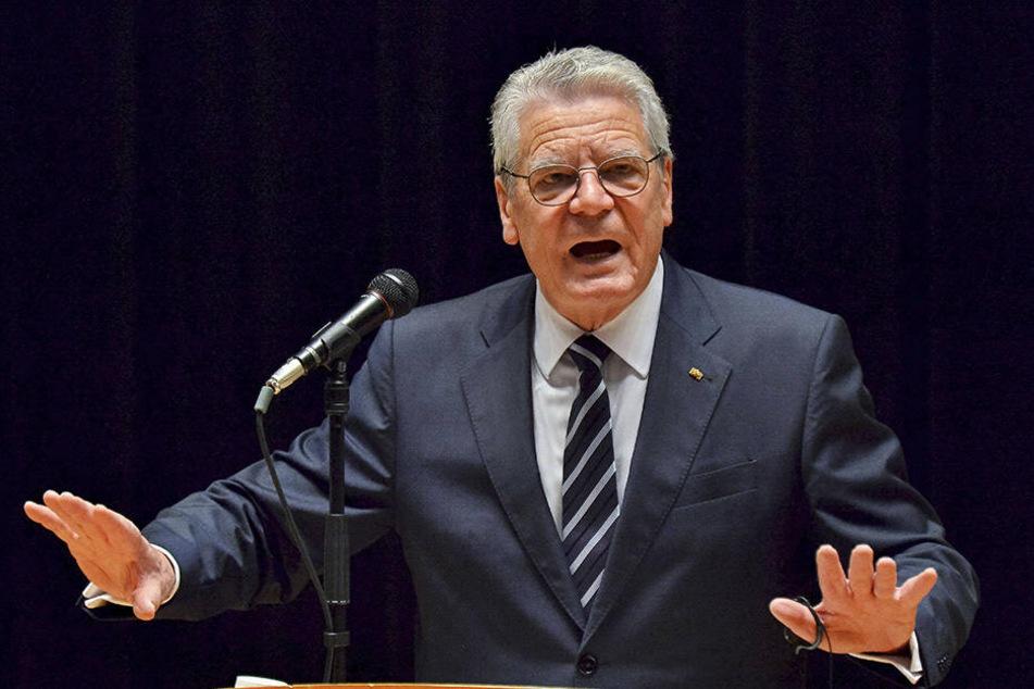 Im Februar 2017 wird Joachim Gaucks Nachfolger gewählt.