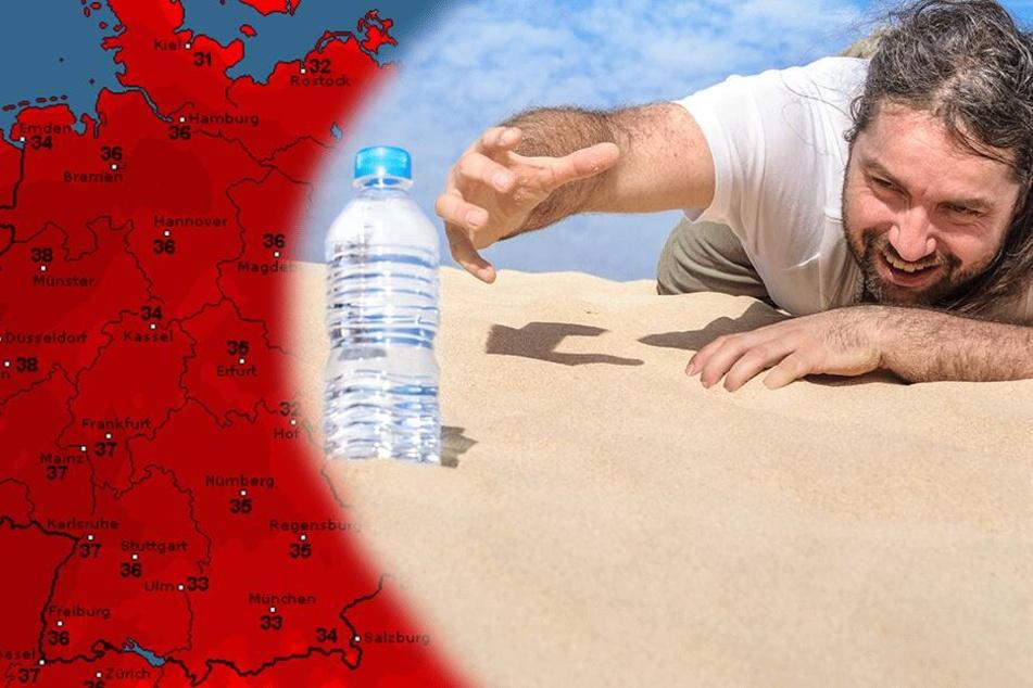 Neue Hitzewelle im Anmarsch: Am Donnerstag wird's brutal warm
