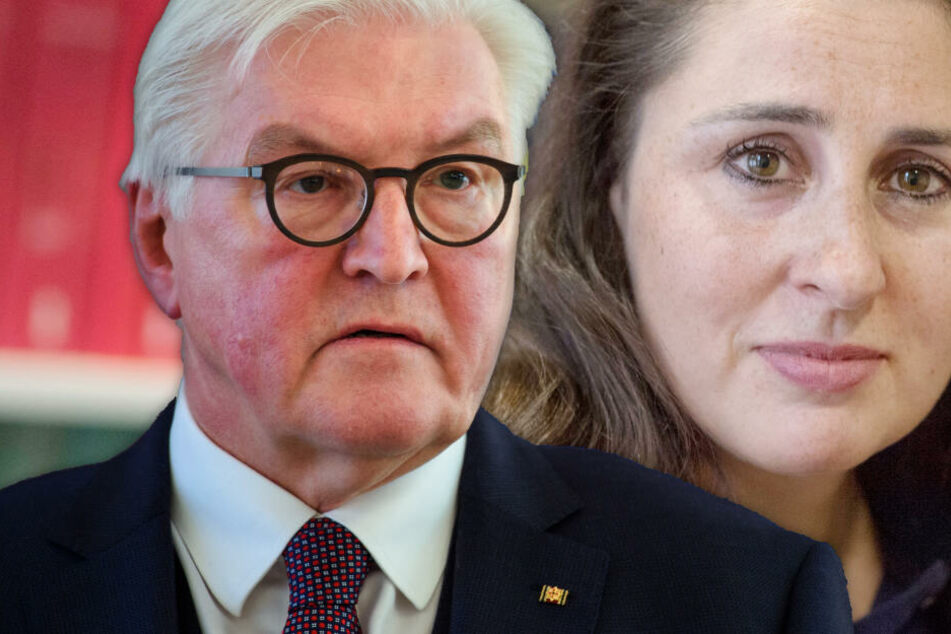 """""""NSU 2.0""""-Skandal: Bundespräsident Steinmeier trifft auf bedrohte Anwältin"""