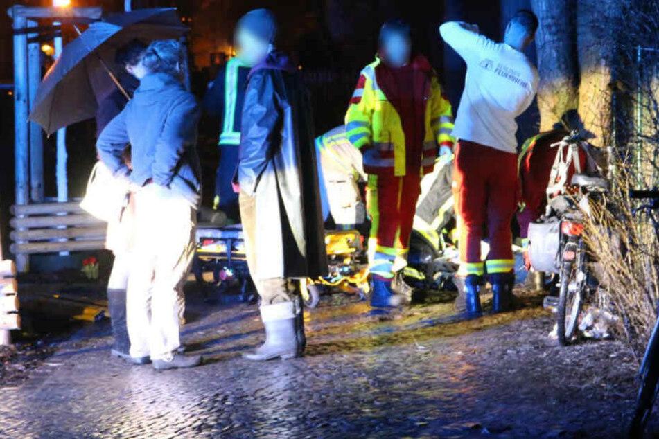 53-jähriger Radfahrer stürzt und stirbt