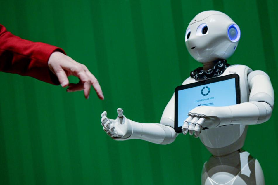 """München: """"Eine riesige Hürde"""": Fraunhofer-Chef über die Zukunft von Menschen und Robotern"""