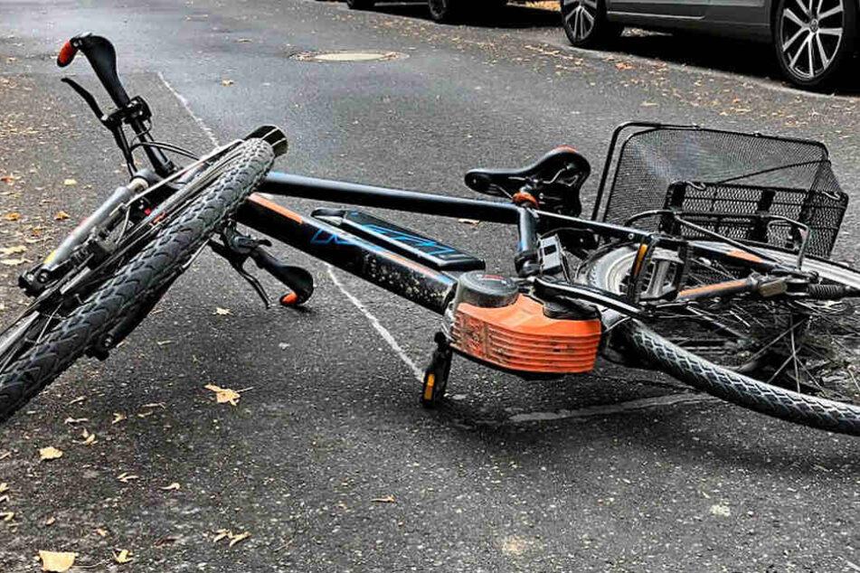 Für den E-Bike-Fahrer kam jede Hilfe zu spät.