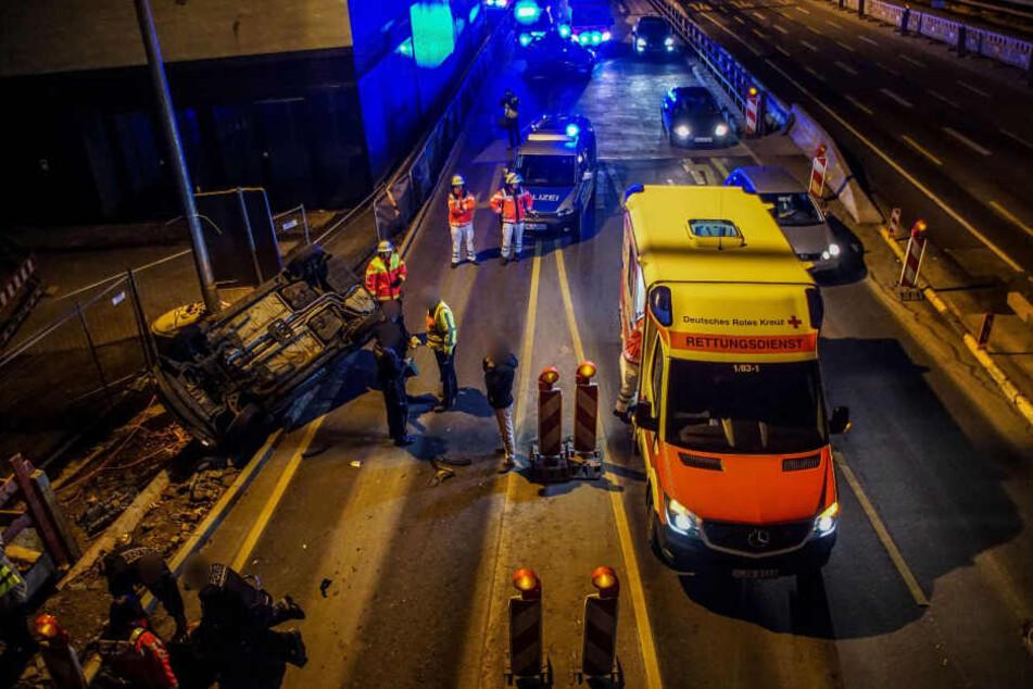 Nach einem Unfall eskalierte die Situation in Stuttgart.