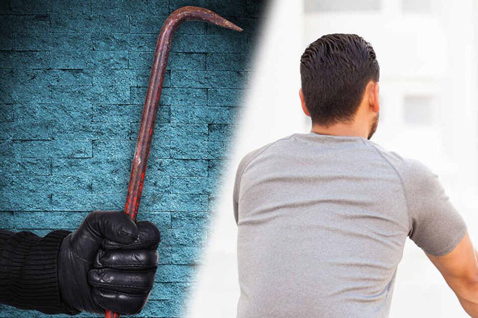 Mit einer Bewährungsstrafe kam ein 30-jähriger Mann davon, nachdem er einem 27-Jährigen mit einer Eisenstange auf den Kopf schlug. (Symbolbild)