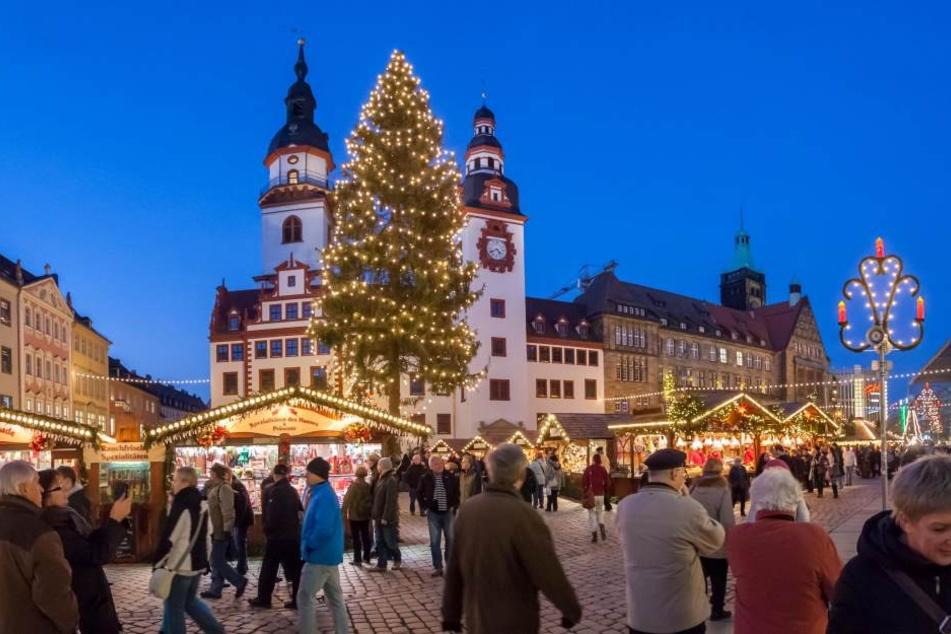 Schönster Weihnachtsmarkt Deutschlands.Schafft Es Chemnitz Noch Auf Platz 1 Tag24