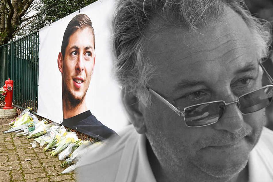 Horacio Sala (r.) erlag drei Monate nach dem Tod seines Sohnes Emiliano (l.) einem Herzstillstand. (Bildmontage)