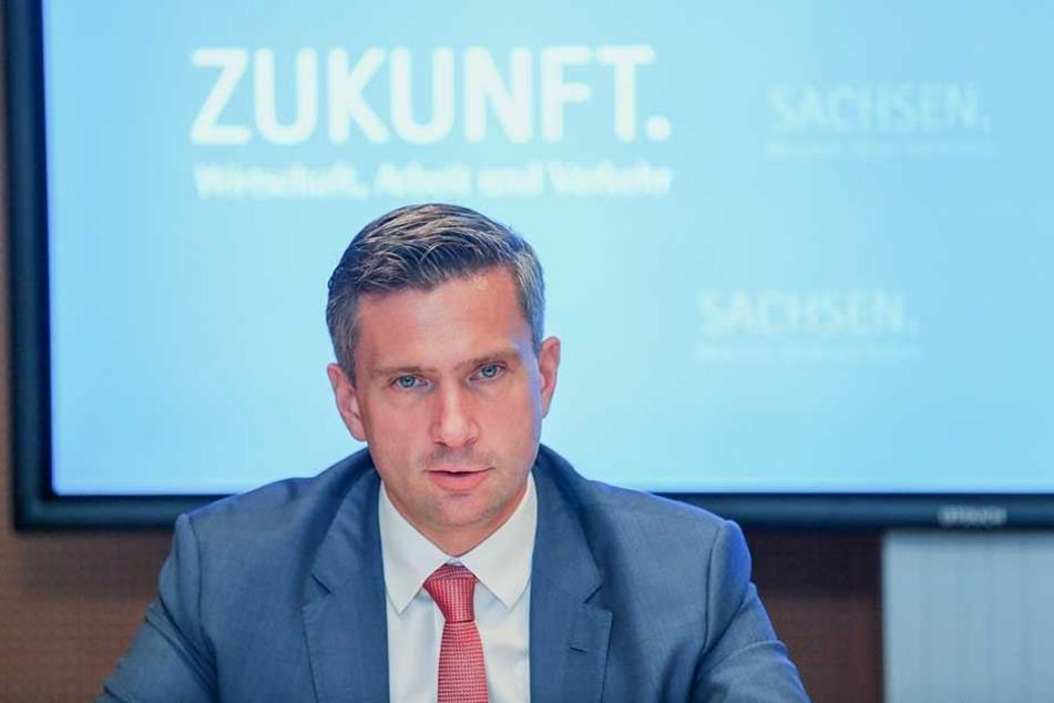 Verkehrsminister Martin Dulig sieht sich bei seinen Nahverkehrs-Reformplänen zunehmender Kritik ausgesetzt.