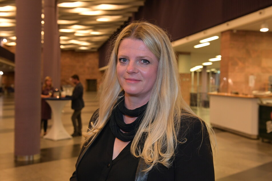 Susanne Schaper (42, Linke) ist froh, vor der AfD gelandet zu sein.