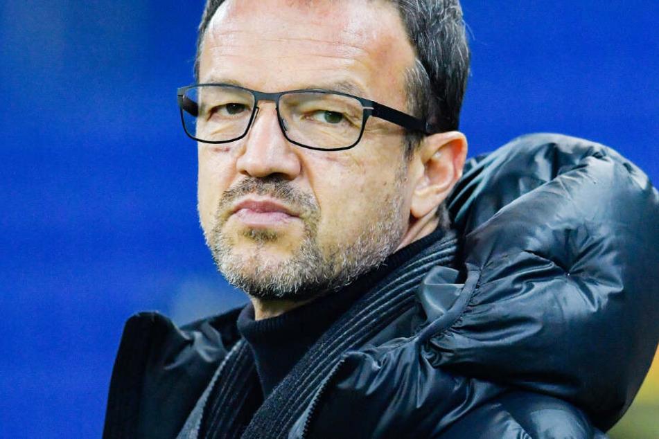 Das Foto zeigt Fredi Bobic, den Sport-Vorstand von Eintracht Frankfurt, im Februar dieses Jahres.