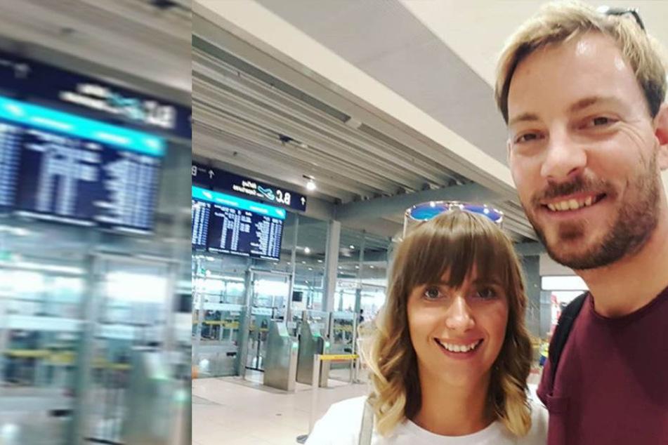 Anna und Gerald sind in Namibia angekommen.
