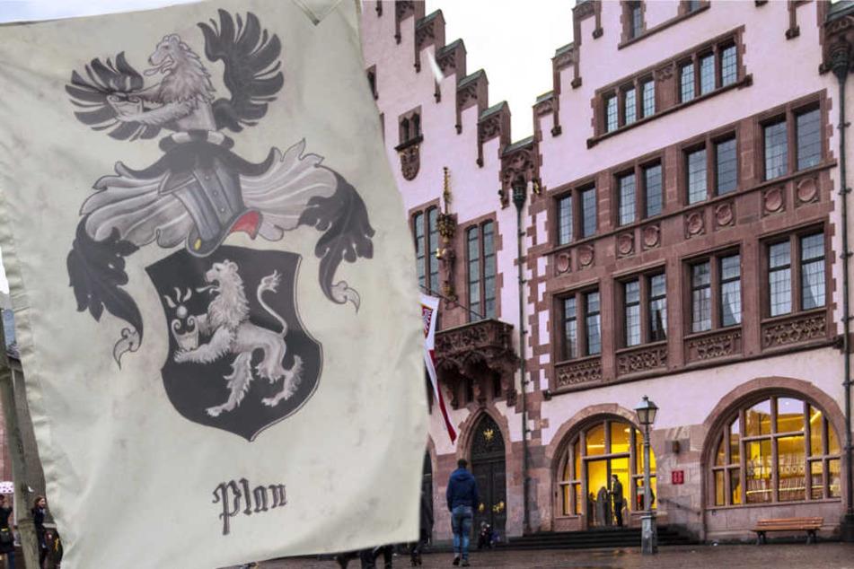 """Die Frankfurter Stadtverwaltung muss sich immer wieder mit sogenannten """"Reichsbürgern"""" befassen."""