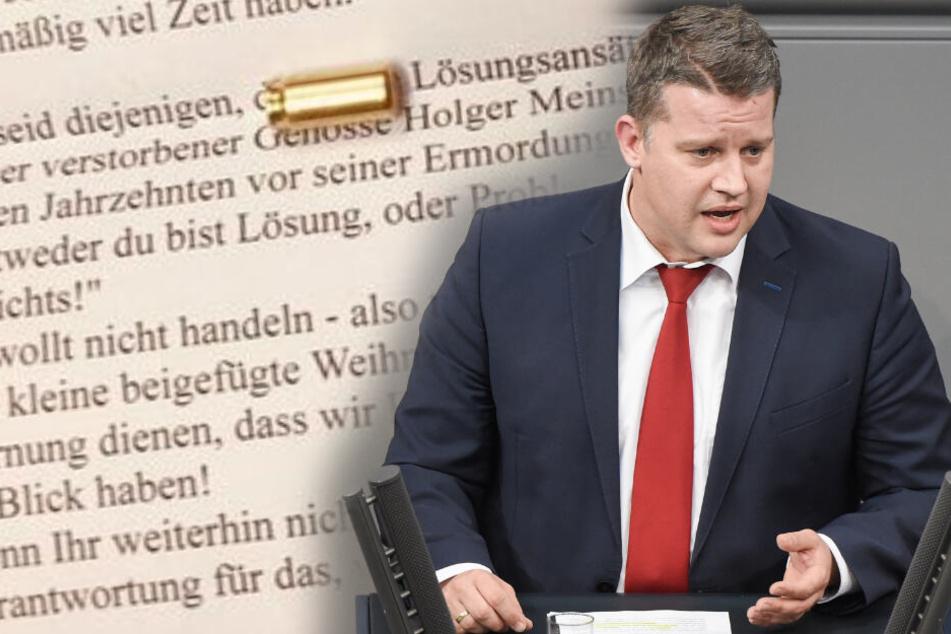 Linker Terror: Auch SPD-Politiker Carsten Träger erhält Drohbrief!
