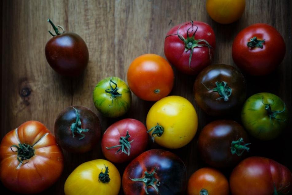 Tomaten: Es gibt sehr viele, bunte Sorten.