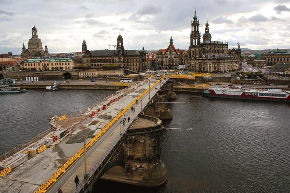 Bei der Sanierung der Augustusbrücke wurde geschlampt.