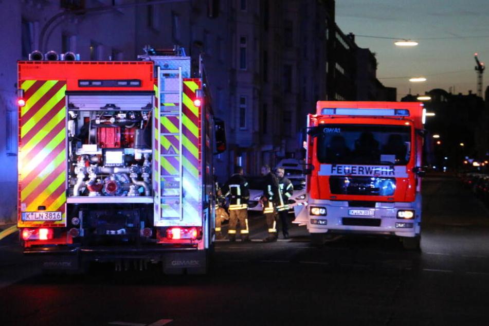 Menschen wurden bei dem Brand in der Kölner Innenstadt nicht verletzt.