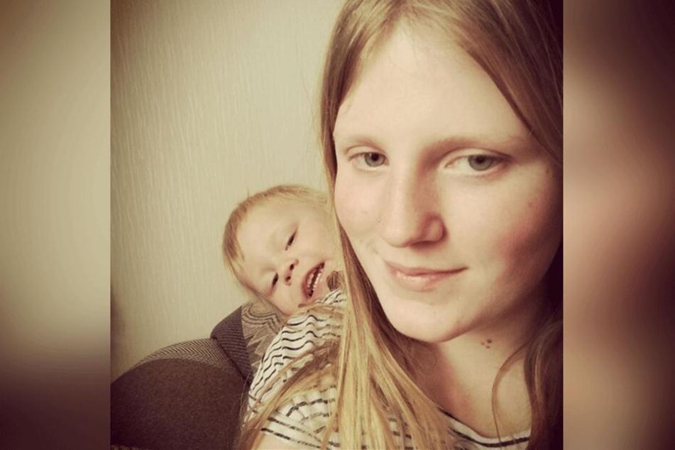 Die toughe Khiara mit ihrem Sohn Hugo.