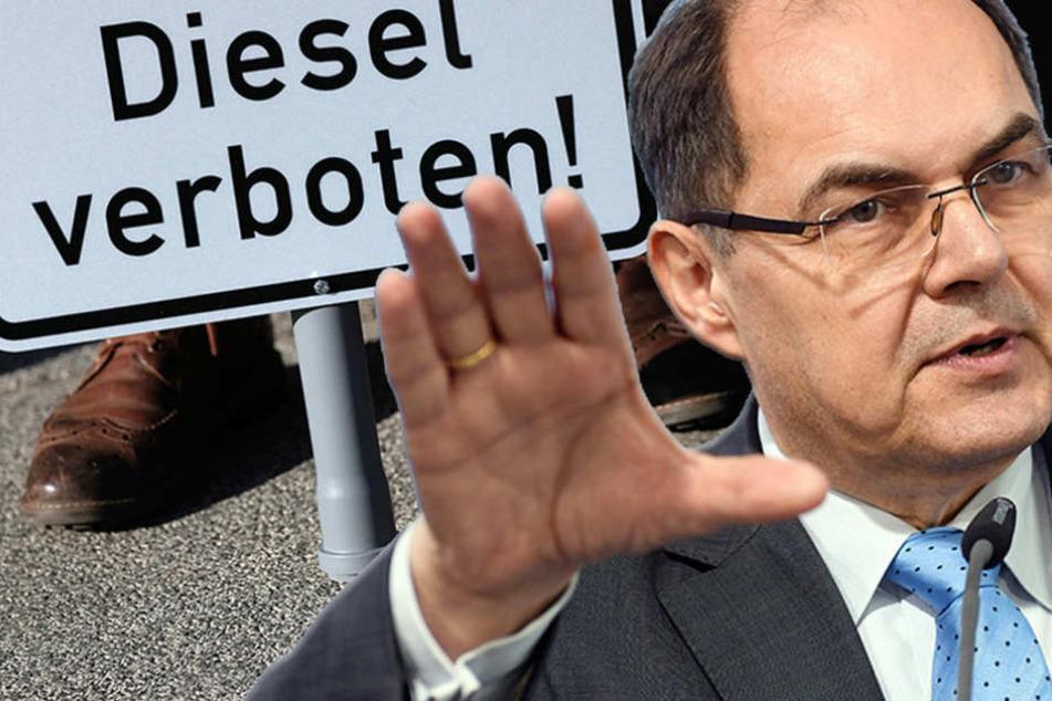Schmidt: Statt Verbote, lieber intelligente Lösungen vorziehen. (Bildmontage)