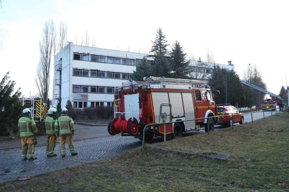 Die Feuerwehr wurde in die Breitscheidstraße gerufen.
