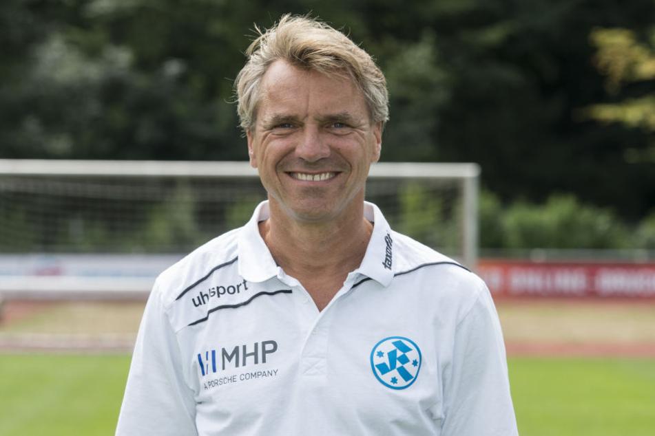 Horst Steffen (48)  wird der neue Trainer beim CFC.