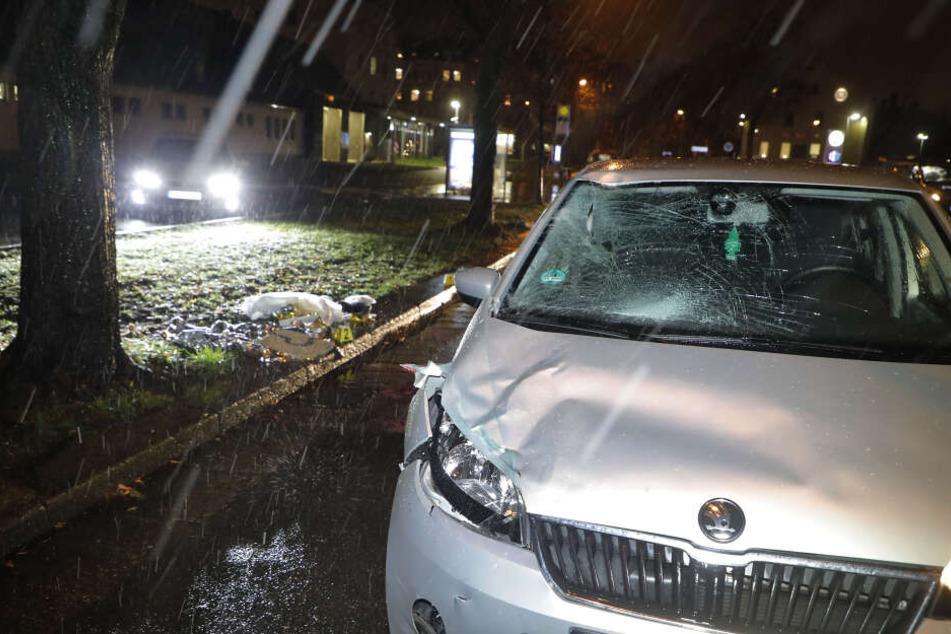 Das Ehepaar wurde im Dezember auf der Hainstraße von einem Skoda erfasst.