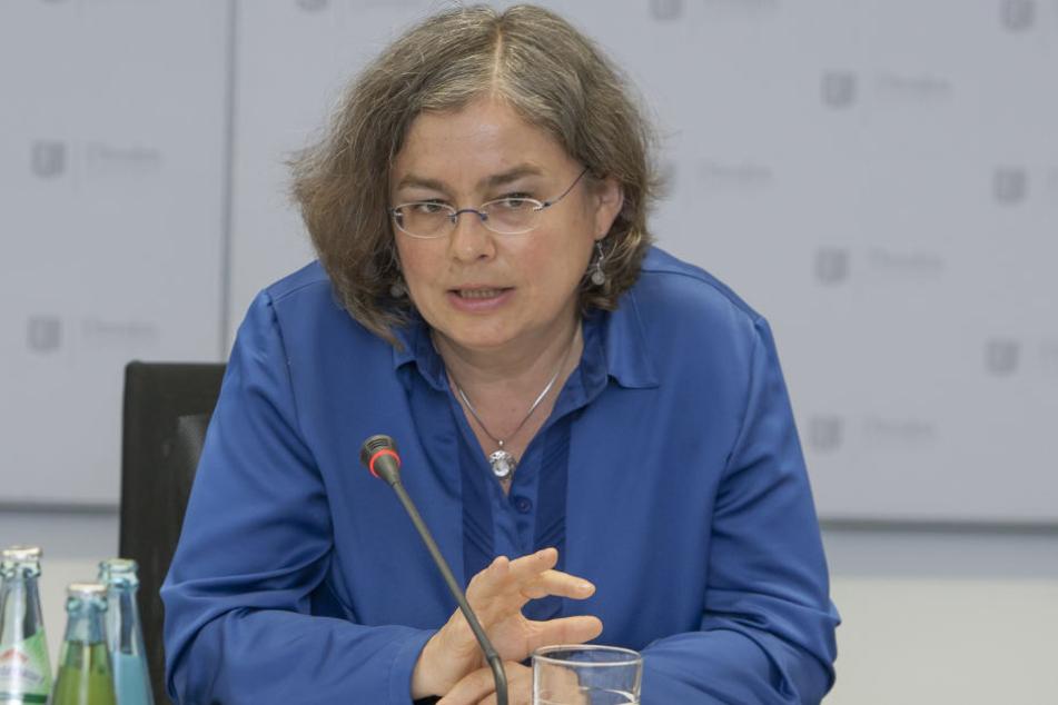 Umweltbürgermeisterin Eva Jähnigen (51, Grüne) will gegen das Diesel-Fahrverbot ankämpfen.