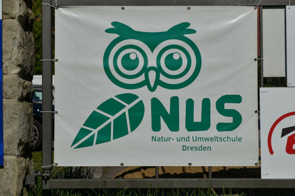 """Das Logo der """"Natur- und Umweltschule Dresden""""."""