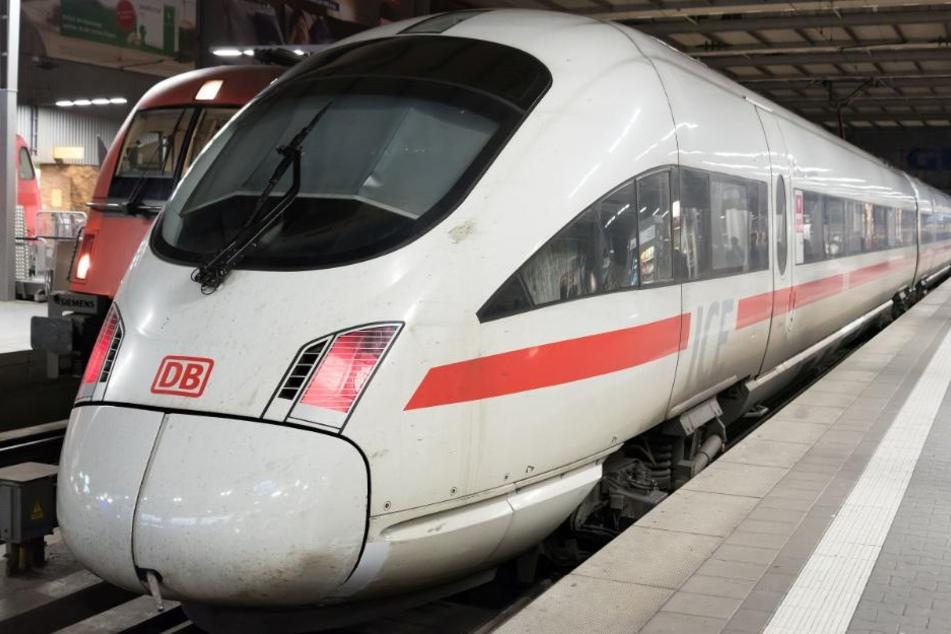 Der Mann war mit dem ICE auf dem Weg nach Erfurt. (Symbolbild)