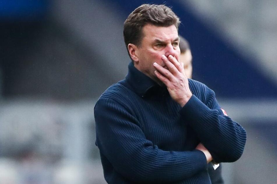Trainer Dieter Hecking peilt einen Sieg an.