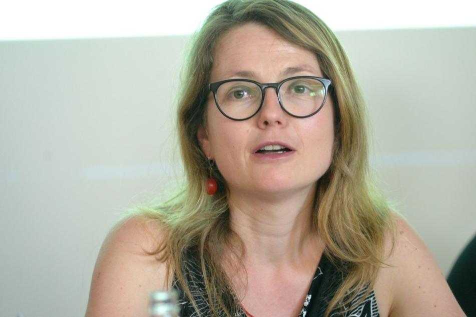 Annekatrin Klepsch (39, Die Linke), Bürgermeisterin für Kultur und Tourismus.
