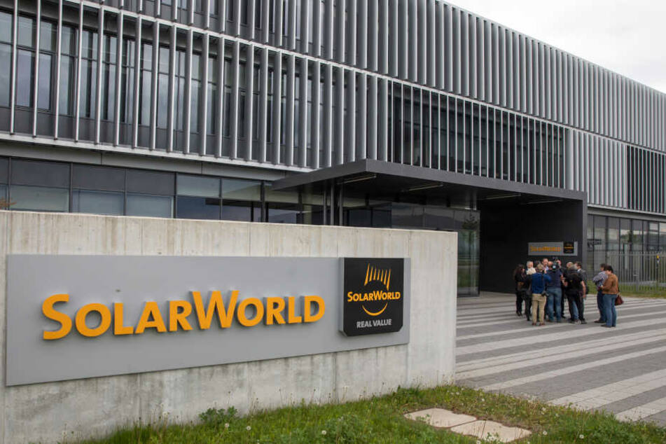 Im Solarworld-Werk in Arnstadt findet am Montag eine Betriebsversammlung statt.