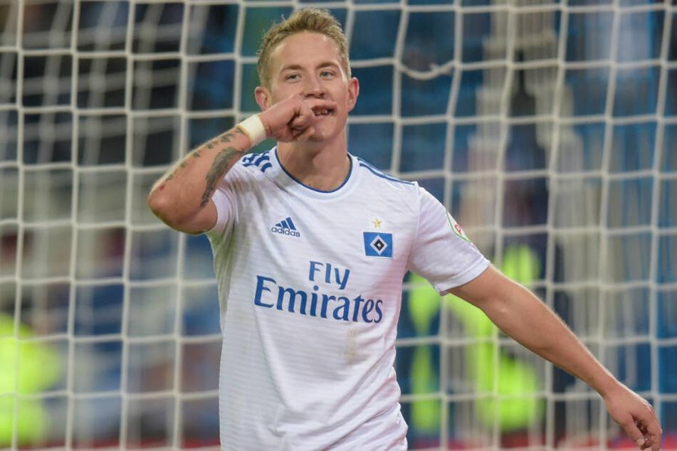 Lewis Holtby zeigte gegen Dynamo Dresden seinen Torriecher.