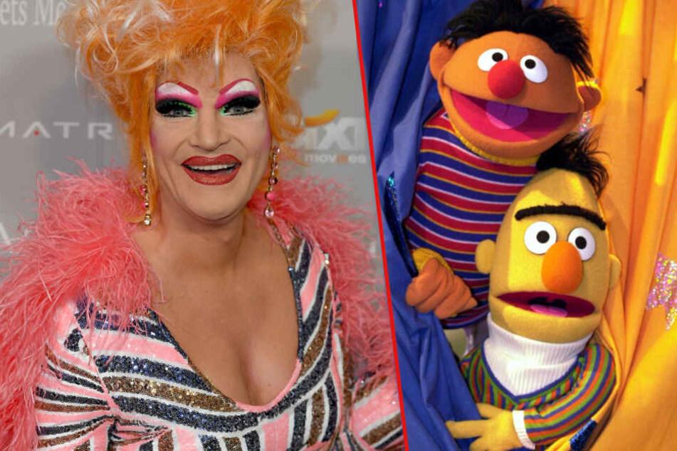 Nach vermeintlichem Ernie-und-Bert-Outing: Das rät Olivia Jones jetzt allen Eltern!