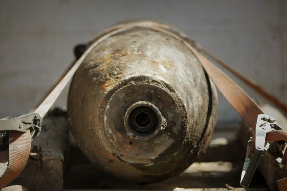 Diesmal wurde ein Überbleibsel aus dem Zweiten Weltkrieg im Frankfurter Ostend gefunden (Symbolbild).