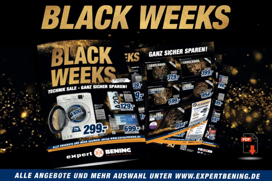 Die Angebote der Black Weeks.