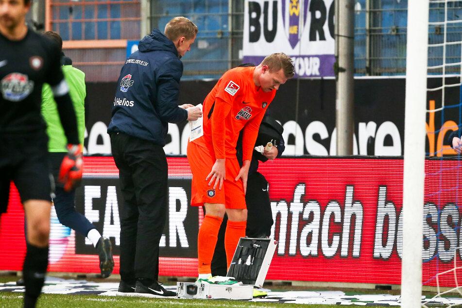 Steve Breitkreuz (29, r.) hatte in seiner Karriere immer wieder mit teils schweren Verletzungen zu kämpfen.