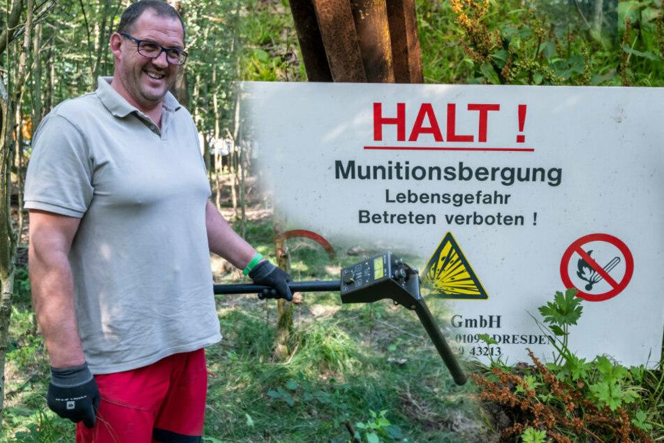 Chemnitz: In Lichtenau wird der Weltkrieg entsorgt