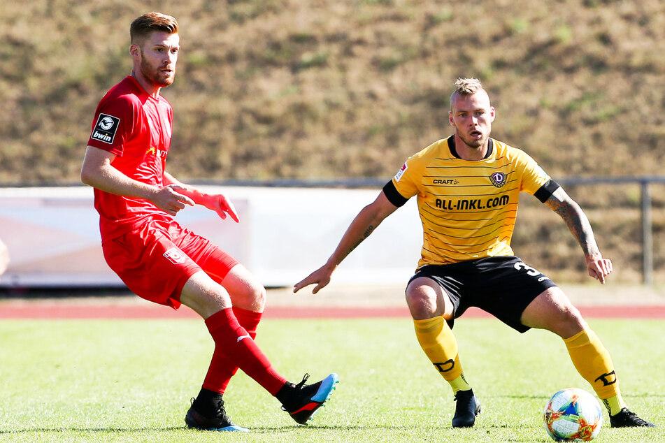 Ex-Dynamo Mathias Fetsch (32) schoss die Kickers Offenbach bei Hessen Kassel früh in Führung und durfte am Ende einen klaren 4:0-Erfolg bejubeln. Näher ist der OFC den Freiburgern aber trotzdem nicht gekommen.