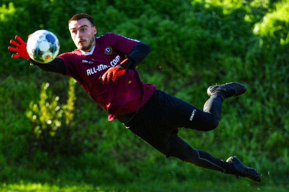 Stefan Kiefer war in der abgebrochenen Saison der Kapitän von Dynamos U19. Nun gehört er fest dem Drittliga-Kader an.