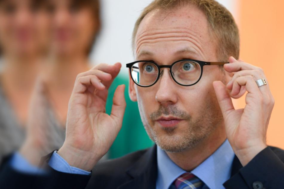 Das Foto zeigt den hessischen Sozialminister Kai Klose (Grüne).